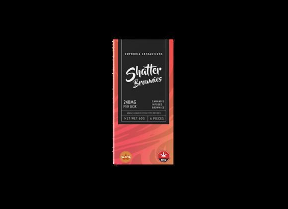 Sativa Shatter Brownies | 240mg