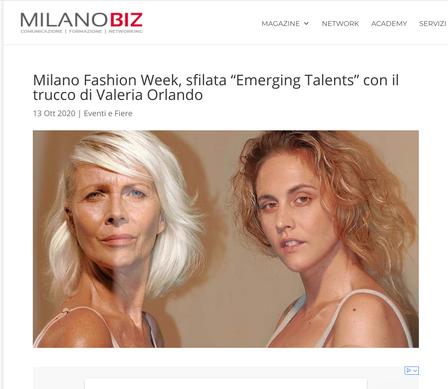 Valeria Orlando interview