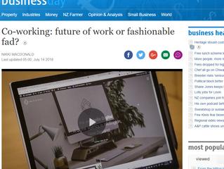 Co-working: Fad or Future?
