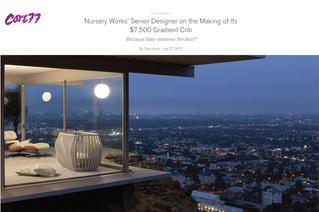 Core 77: Nursery Works' Senior Designer on the Making of Its $7,500 Gradient Crib (2015)