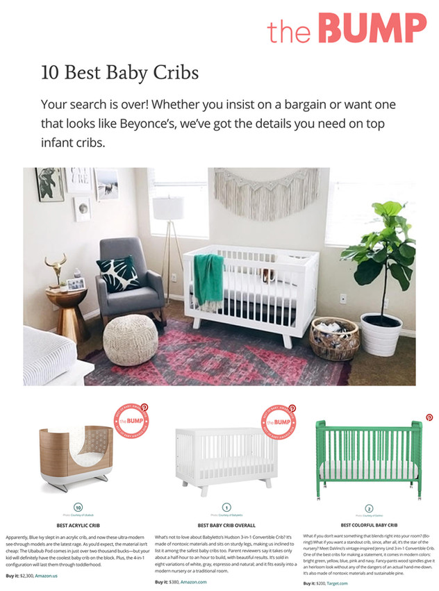 The Bump: 10 Best Baby Cribs (2018)