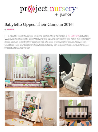Project Nursery: Babyletto Upped Their Game (2016)