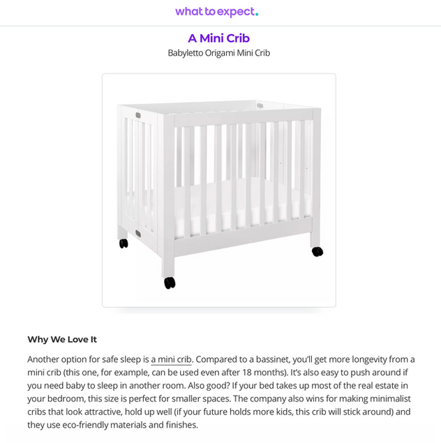 What to Expect: The Best Products for Room Sharing With Baby (2020)