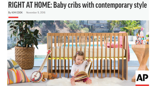Associated Press Right At Home: Babyletto baby cribs with contemporary style (2016)