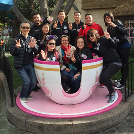 Celebrating 25 years with a company trip to Disneyland