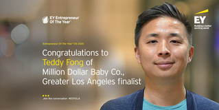 Ernst & Young: Entrepeneur of the Year Semi-Finalist (2020)