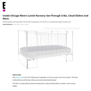 E Online: Inside Chicago West's Lavish Nursery (2018)