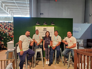 ABC 2019: Tracy with our amazing Warehouse team