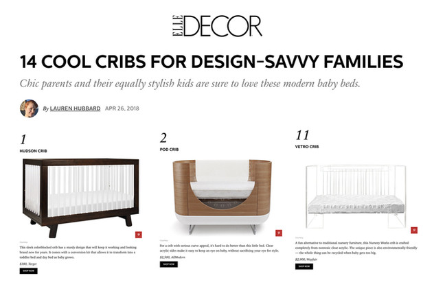 Elle Decor: 14 Cool Cribs for Design-Savvy Families (2018) Decor_Best Of_Vetro Pod Hudson_0
