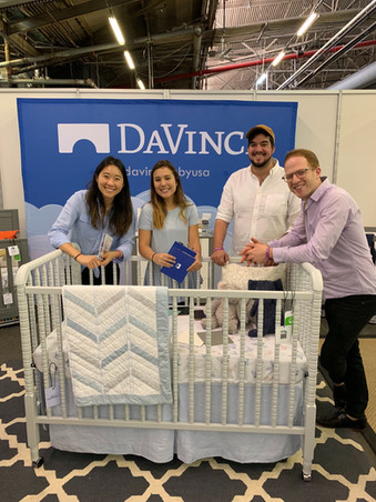 Our Brand and Product Development teams at the NY Baby Show