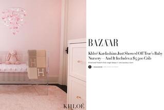 Harper's Bazaar: Khloe Kardashian's Nursery (2018)