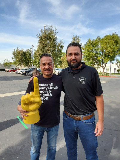 Our Warehouse team member Ignacio won All Star of the Month