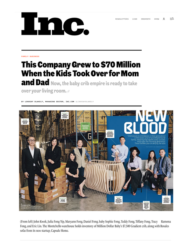 Inc: This Company Grew to $70 Million When the Kids Took Over for Mom and Dad (2017)