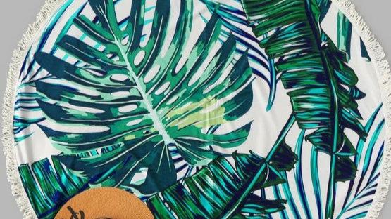 Palm Sunday Beach Mat