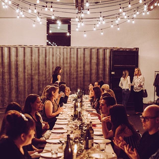 Private dinner and wine tasting event