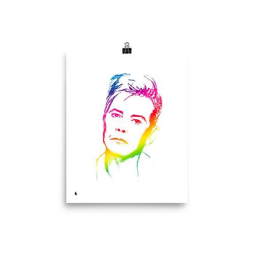 """RAINBOWie 8 x 10"""" Print"""