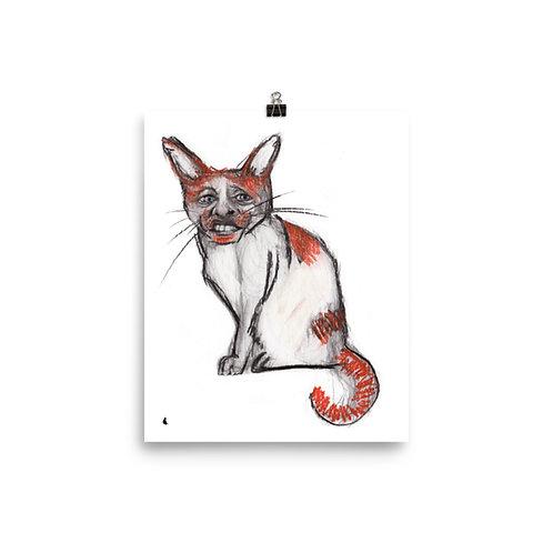 "Self Catrait... 8x10"" Print"
