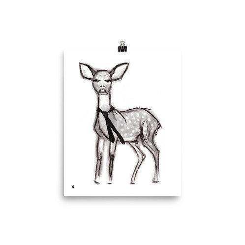 "Gwen SteFAWNy 8x10"" Print"