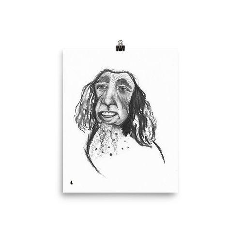 "Dogolous Cage 8 x 10"" Print"