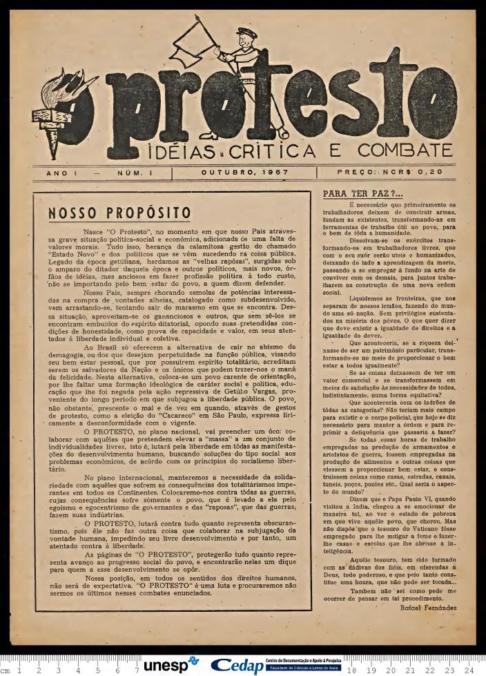 O Protesto 1967 - 01