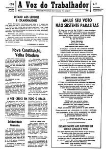 A Voz do Trabalhador Nº 2 - 1988