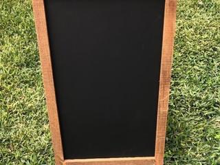 Large A Frame Chalkboard
