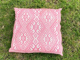 Neon Pink Cushion