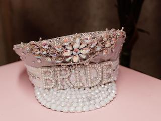 Bride Captain Hat