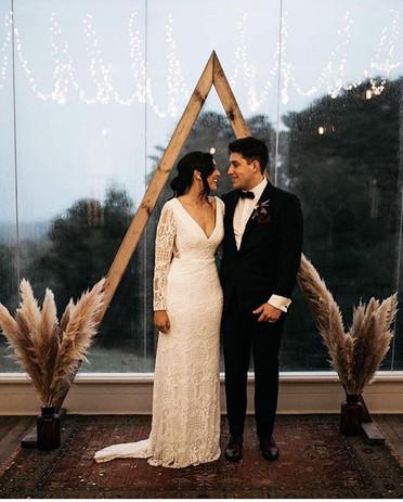 Triangle Wedding Arbour