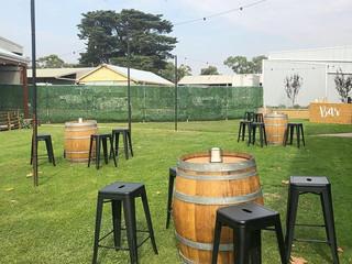 Wine Barrels & Stools