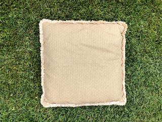 Large Beige Cushion