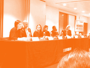 CRISTINA AT THE WOMEN AT MACE LAUNCH PANEL