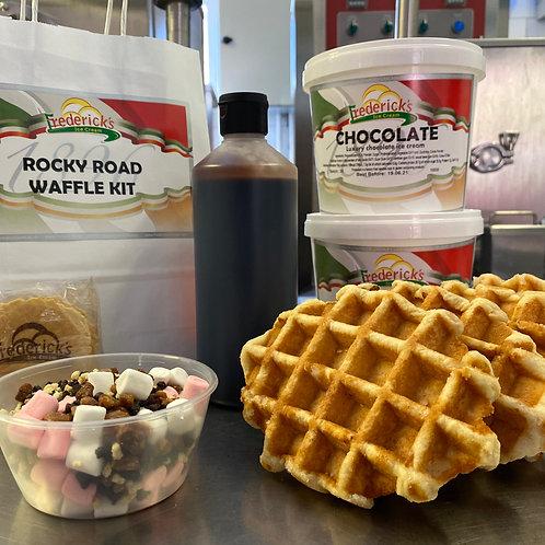 Rocky Road Waffle Kit