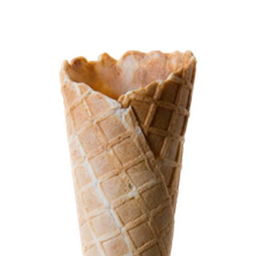 MINI Plain Waffle Cone Pack