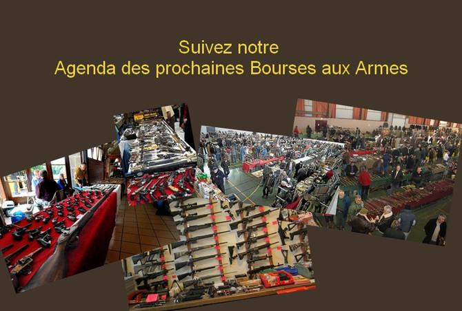 Agenda des Bourses aux Armes