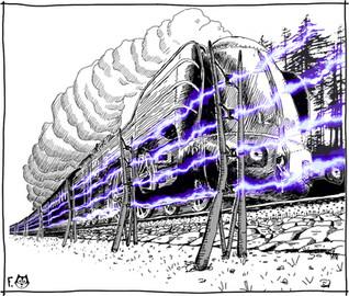Le monstre à vapeur
