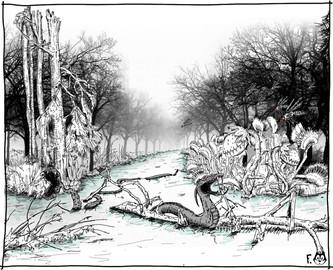 La rivière aux serpents