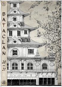 Affiche Bataclan