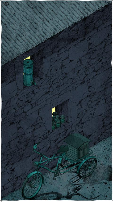 De pierres et de laiton nuit