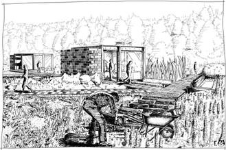 construction des micro-serres