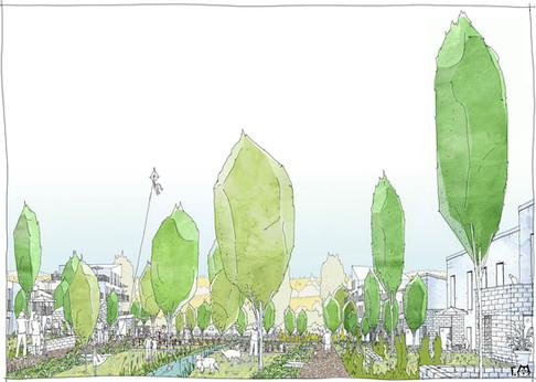 Les espaces verts publics