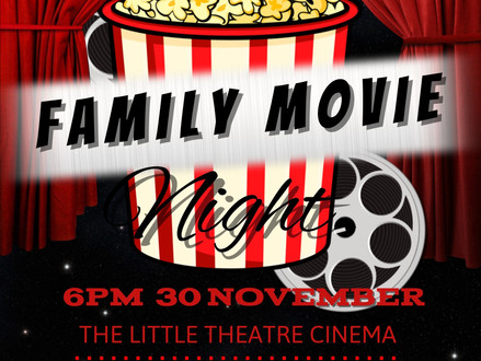 Friends News - Family Movie Night 2017