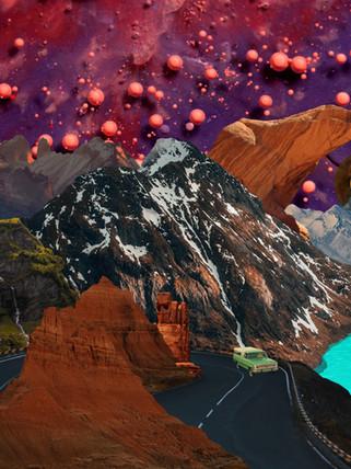 Strange Trails Album Cover Remake