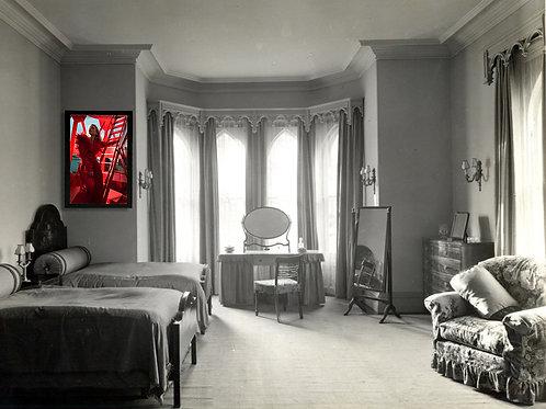 Billie Piper Poster – Red (Damaged)