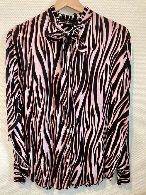 Zwillingsherz Bluse im Zebra Style