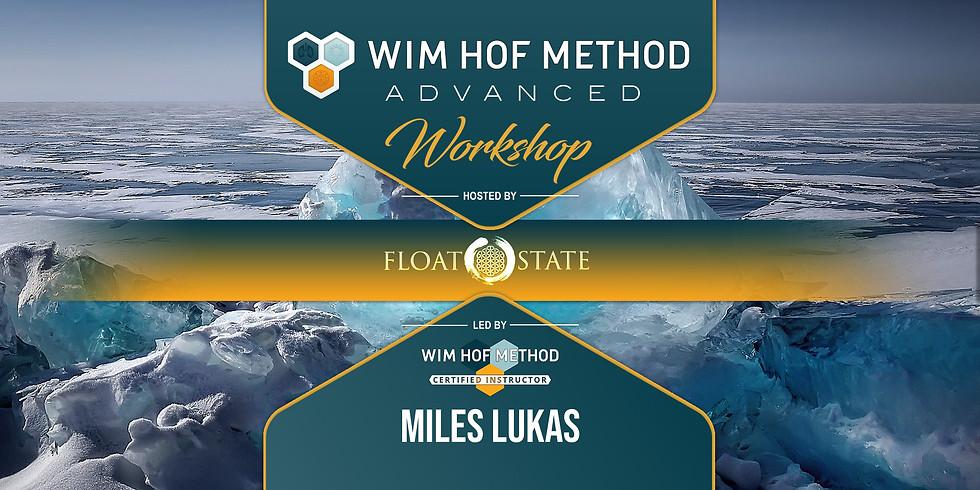Wim Hof Method Advanced   Float State   Corona, CA   8-16