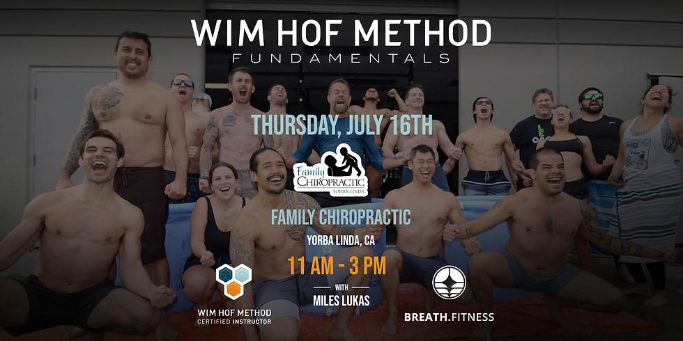 WHM Fundamentals Workshop Yorba Linda Family Chiropractic