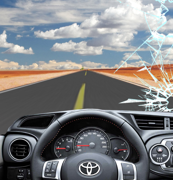 Toyota Avoid Road Obstacles Game