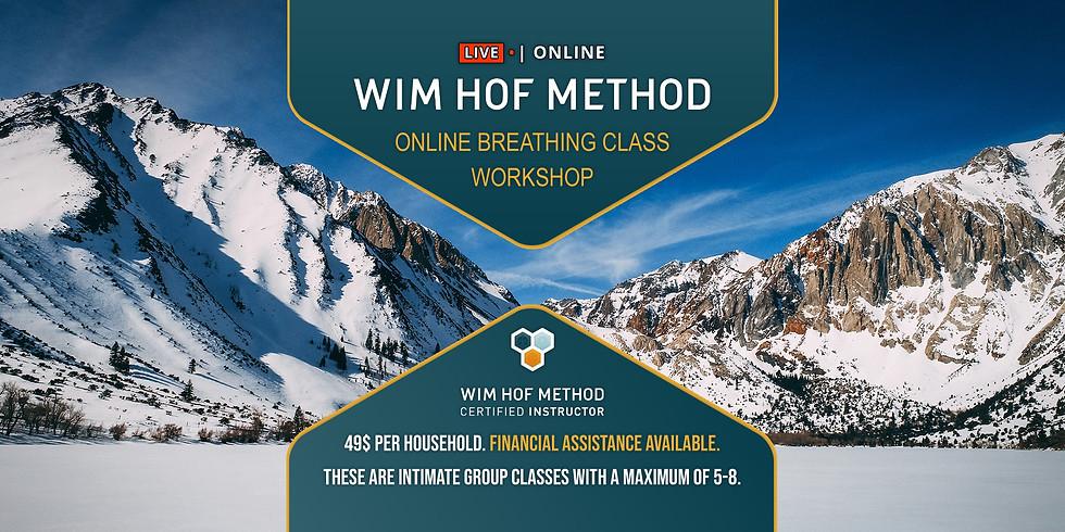 WHM Online Breathing Class Workshop