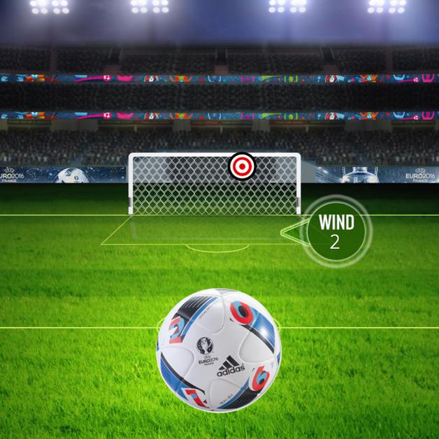 UEFA Swipe to Score
